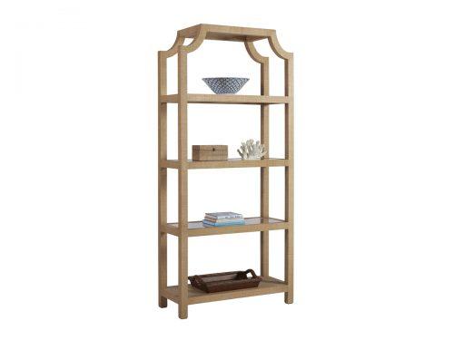 Hilton Head Furniture Store -  Beachcomber Raffia Etagere
