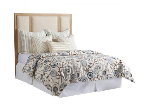 Hilton Head Furniture Store -  Crystal Cove Upholstered Panel Headboard