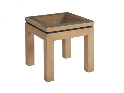 Hilton Head Furniture Store -  Harbor Raffia Lamp Table