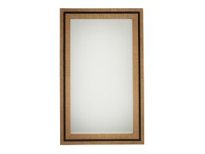 Hilton Head Furniture Store - La Costa Rectangular Raffia Mirror
