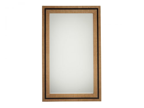 Hilton Head Furniture -  La Costa Rectangular Raffia Mirror
