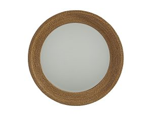 Hilton Head Furniture Store - La Jolla Woven Round Mirror