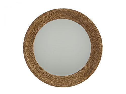 Hilton Head Furniture Store -  La Jolla Woven Round Mirror