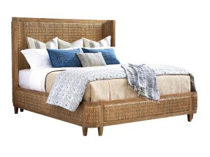 Hilton Head Furniture - Ivory Coast Woven Platform Bed