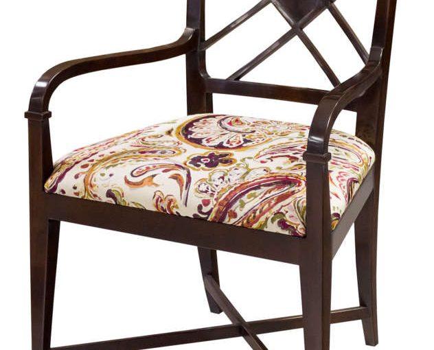 Hilton Head Furniture - Nash Lattice Back Arm Chair