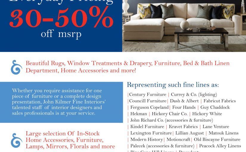 Hilton Head Furniture - Stop By Our Showroom Today!