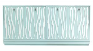 Hilton Head Furniture - Facets Four Door Credenza