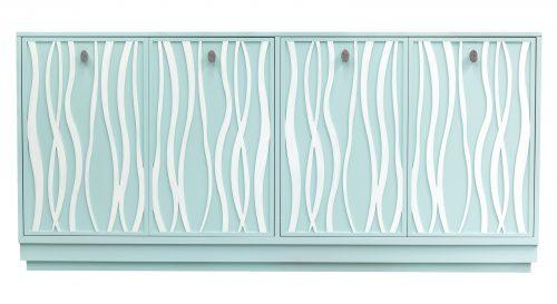 Hilton Head Furniture -  68 BL2 DR3 DR3 HN6 Ocean White