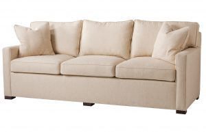 Hilton Head Furniture Store - Square Arm Sofa By The Inch
