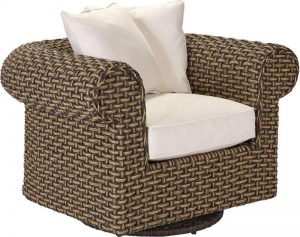 Hilton Head Furniture - Ernest Hemingway Swivel Glider Lounge Chair