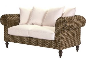 Hilton Head Furniture - Ernest Hemingway Chesterfield Loveseat