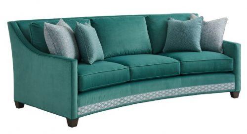 Hilton Head Furniture -  Valenza Curved Sofa