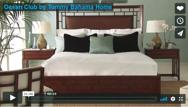 Hilton Head Furniture - Ocean Club  Tommy Bahama Home   Video*