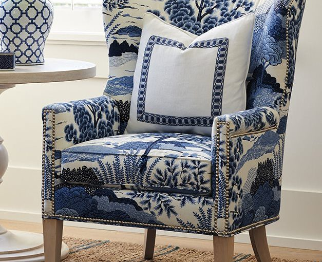 Hilton Head Furniture - The Avery Wing Accent Chair