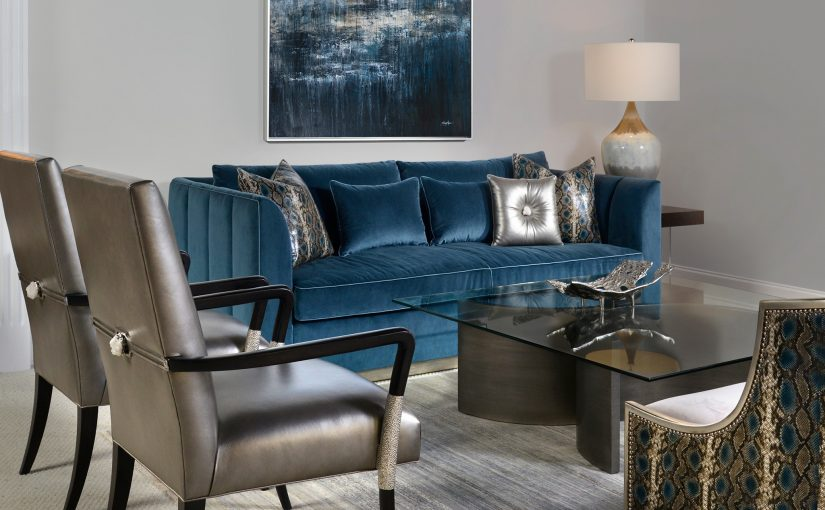 Hilton Head Furniture - John Richards Luxury In Blue