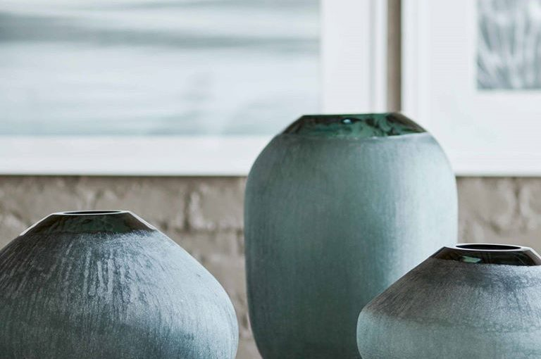 Hilton Head Furniture Store - Mykonos Glass Vases  PALECEK