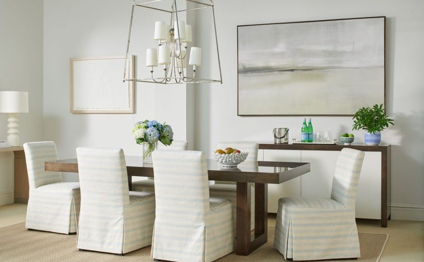 Hilton Head Furniture - Palm Beach Dining Table  Sherrill Furniture