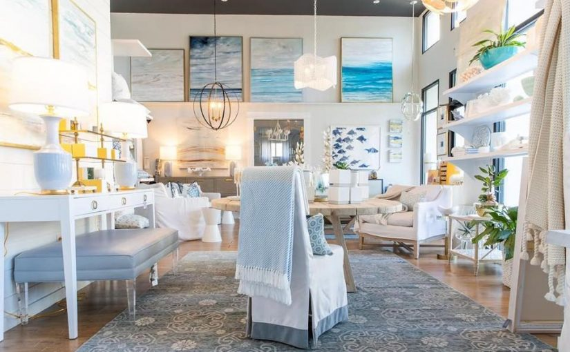 Hilton Head Furniture Store - Blue Dreams With Modern History