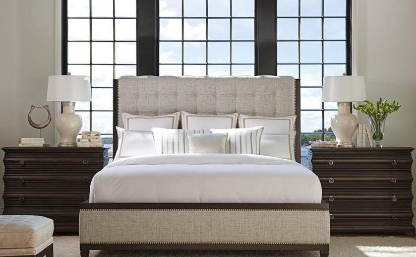 Hilton Head Furniture Store - Sleep Like Royalty In The Bristol Tufted Upholstery Bed