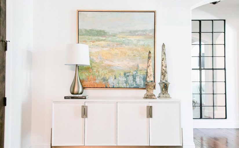 Hilton Head Furniture - Add Glam To Your Entryway With The Colza Sideboard