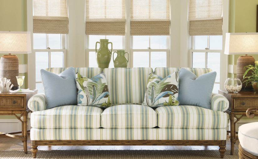 Hilton Head Furniture Store - The Golden Isle Sofa  Tommy Bahama Home
