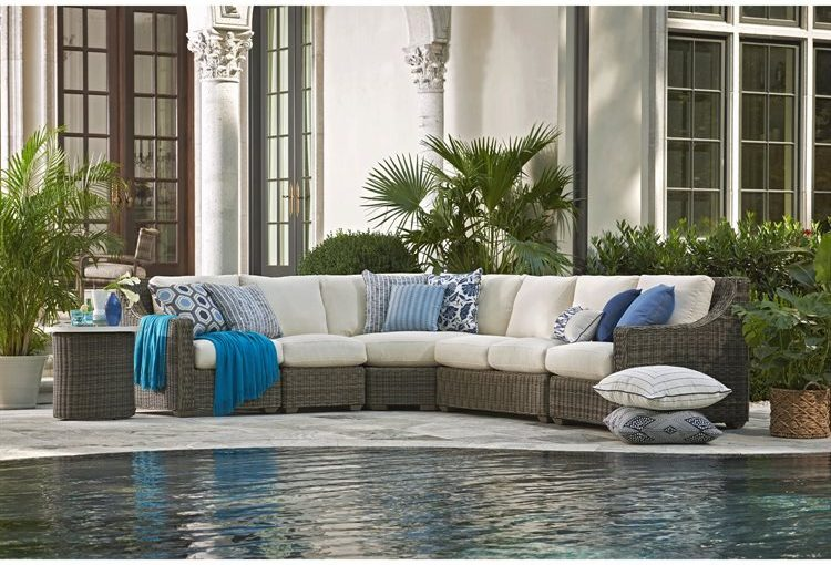 Hilton Head Furniture Store - Today's Fashion: Oasis Wicker Sectional