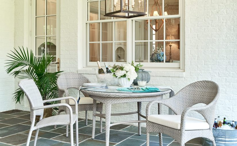 Hilton Head Furniture Store - Outdoor In Floral Gray – Woodbridge Furniture