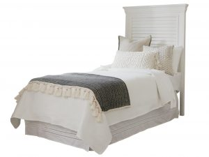 Hilton Head Furniture Store - Royal Palm Louvered Headboard 3/3 Twin