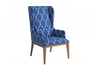 Hilton Head Furniture Store - Seacliff Upholstered Host Wing Chair