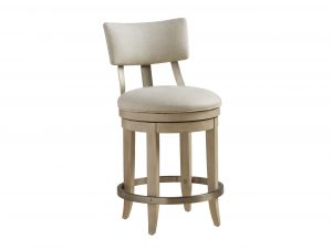Hilton Head Furniture Store - Cliffside Swivel Upholstered Counter Stool