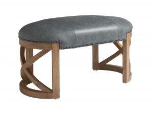 Hilton Head Furniture Store - Marcel Leather Bench