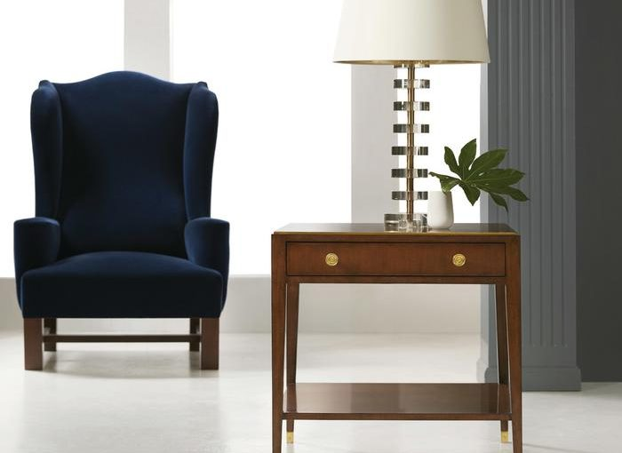 Hilton Head Furniture Store - Cherry Italian End Table  Modern History