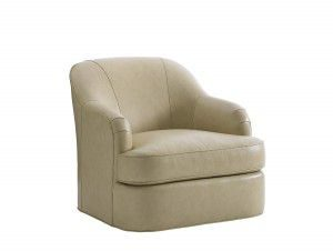Hilton Head Furniture - John Kilmer Fine Interiors   Alta Vista Leather Swivel Chair
