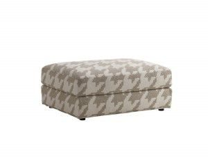 Hilton Head Furniture - John Kilmer Fine Interiors   Bellvue Ottoman