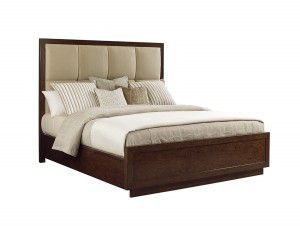 Hilton Head Furniture - John Kilmer Fine Interiors   Casa Del Mar Upholstered Bed
