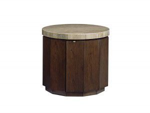Hilton Head Furniture - From John Kilmer Fine Interiors - Glendora-Drum-Table