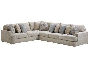Hilton Head Furniture - John Kilmer Fine Interiors   Halandale Sectional Halandale Sectional