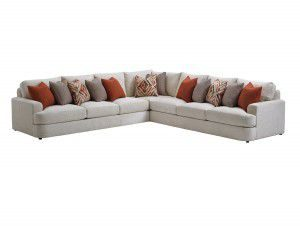 Hilton Head Furniture Store - Lexington Laurel Canyon Halandale Sectional