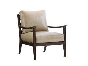 Hilton Head Furniture - From John Kilmer Fine Interiors - Miramar-Leather-Chair